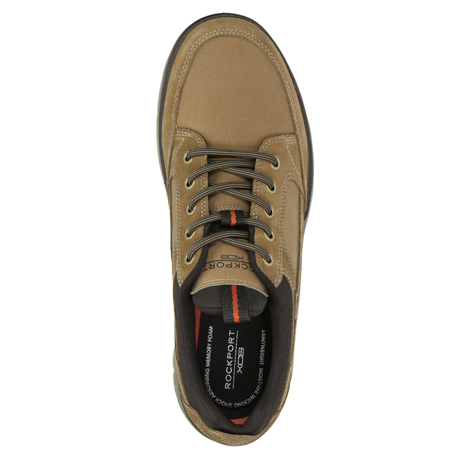 Pánská kožená obuv rockport, hnědá, 826-3024 - 26