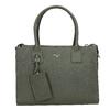 Kožená kabelka s popruhem picard, zelená, 966-7039 - 26