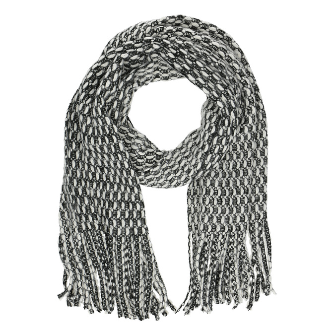 Teplá pletená šála bata, vícebarevné, 909-0636 - 16