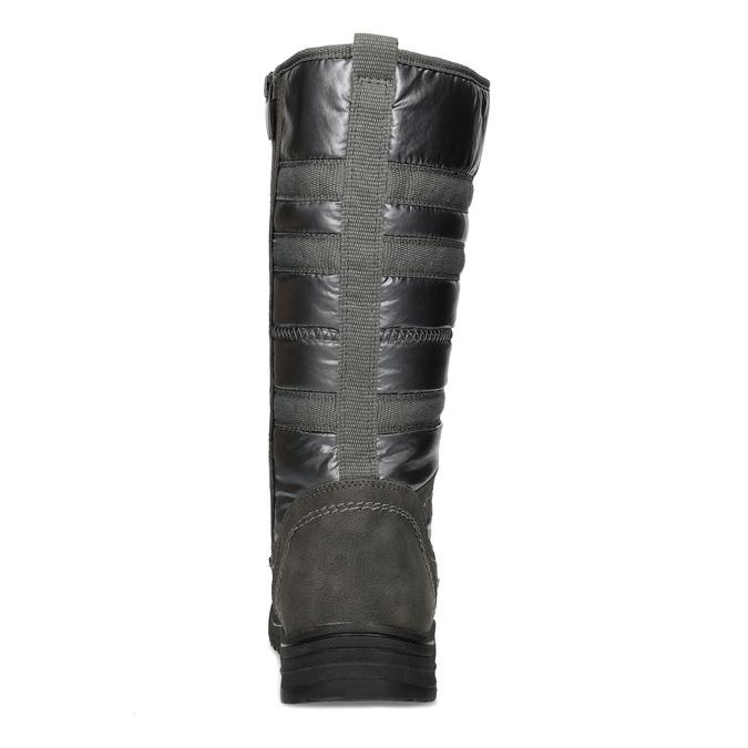 Dámské zimní sněhule bata, šedá, 599-2619 - 15