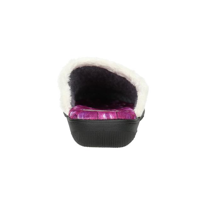 Dámská domácí obuv růžová bata, 579-5622 - 17