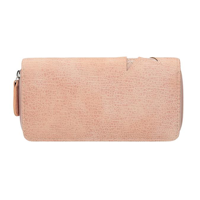 Růžová peněženka s hvězdami bata, růžová, 941-5154 - 16