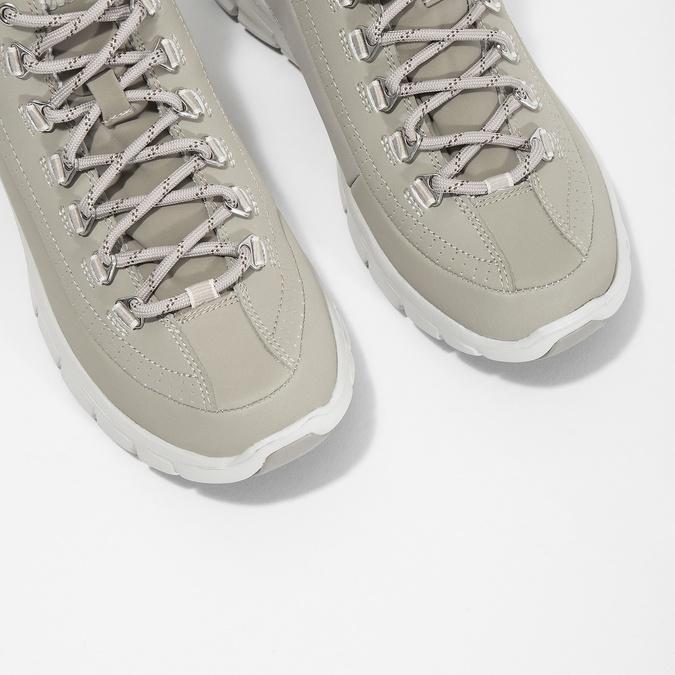 Dámská kotníčková obuv skechers, šedá, 501-2314 - 18