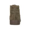 Kotníčkové tenisky z broušené kůže diesel, hnědá, 803-4629 - 15
