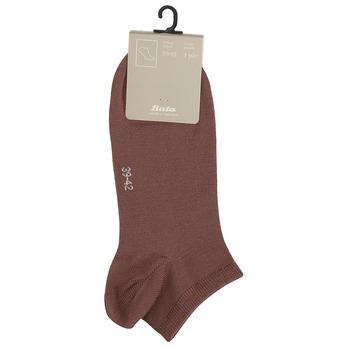 Pánské ponožky bata, hnědá, 919-4876 - 13