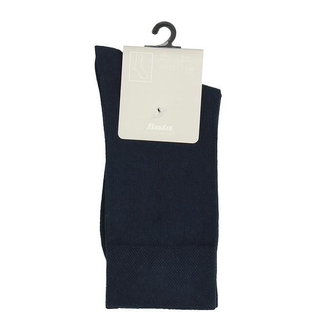 Pánské ponožky modré bata, modrá, 919-9646 - 13