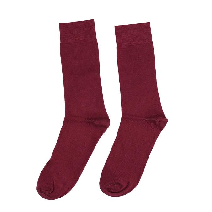 Pánské vínové ponožky bata, červená, 919-5302 - 26