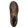 Kožená zimní obuv kotníčková bata, hnědá, 896-4661 - 26