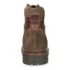 Kožená zimní obuv kotníčková bata, hnědá, 896-4661 - 15
