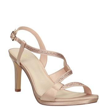 Dámské sandály s kamínky bata, 729-8611 - 13