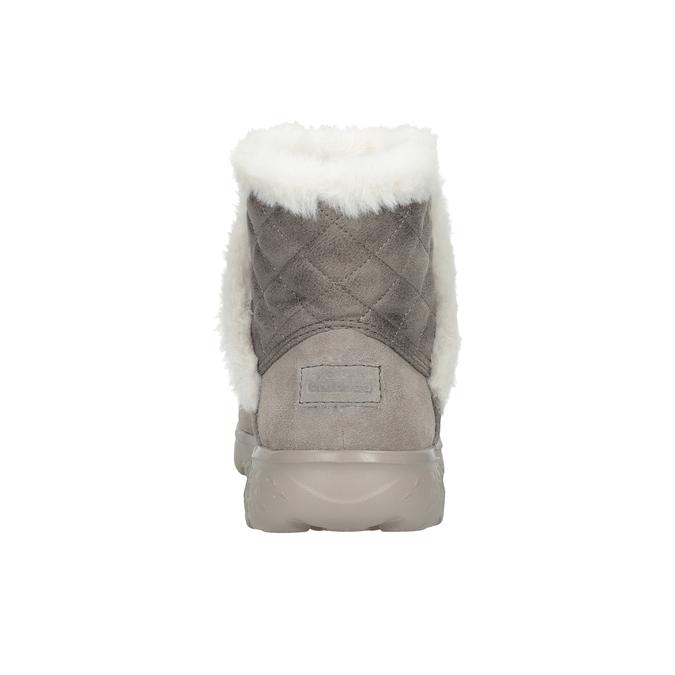 Dámská obuv z broušené kůže skechers, 503-3326 - 15
