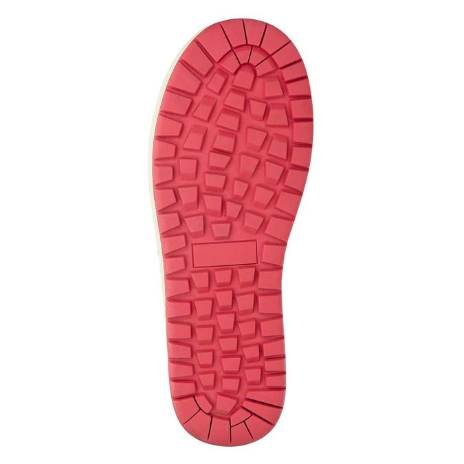 Červené dámské sněhule bata, červená, 599-5616 - 19