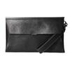 Černé kožené psaníčko bata, černá, 966-6285 - 26
