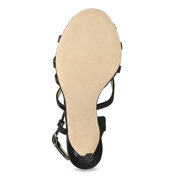 Dámské společenské sandály bata, černá, 726-6648 - 18