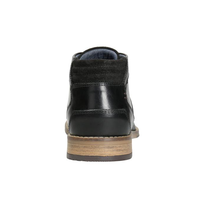 Kotníková pánská obuv bata, černá, 826-6926 - 16