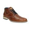 Pánská kožená kotníčková obuv bata, hnědá, 826-3925 - 13