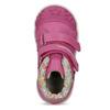 Růžové dětské kotníčkové tenisky s květinami bubblegummers, 121-5618 - 17