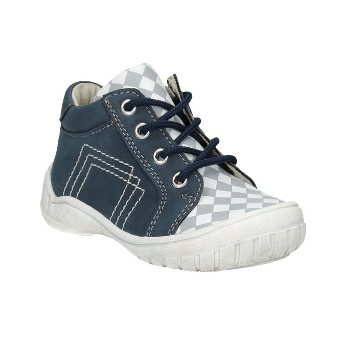 Dětská kotníčková obuv se vzorem bubblegummers, modrá, 111-9626 - 13