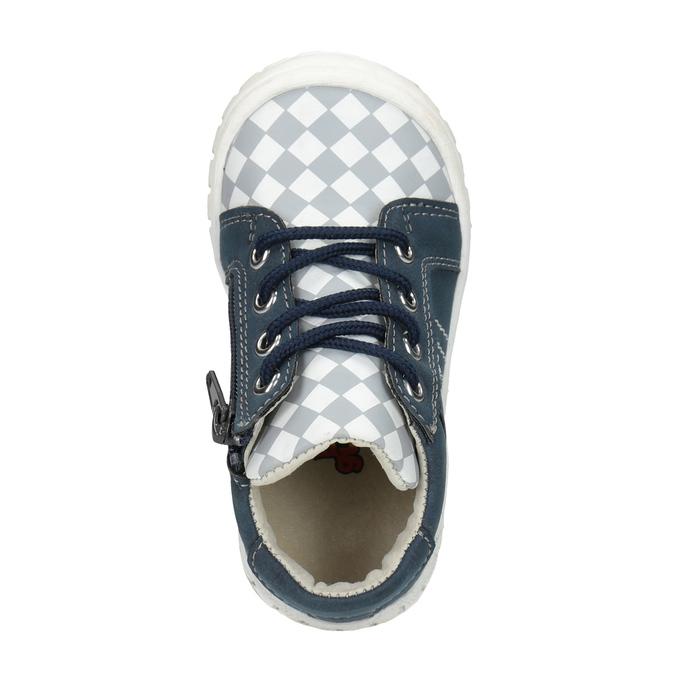 Dětská kotníčková obuv se vzorem bubblegummers, modrá, 111-9626 - 15