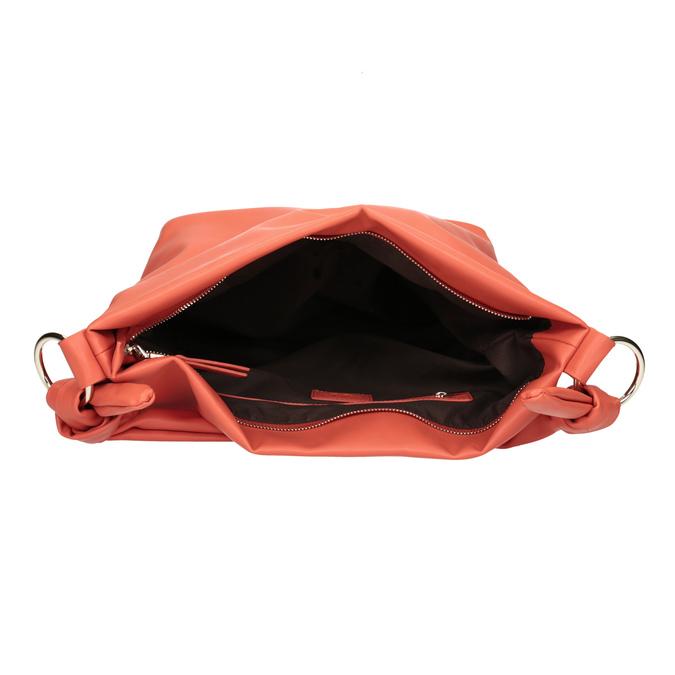 Dámská kabelka v Hobo stylu bata, červená, 961-5843 - 15
