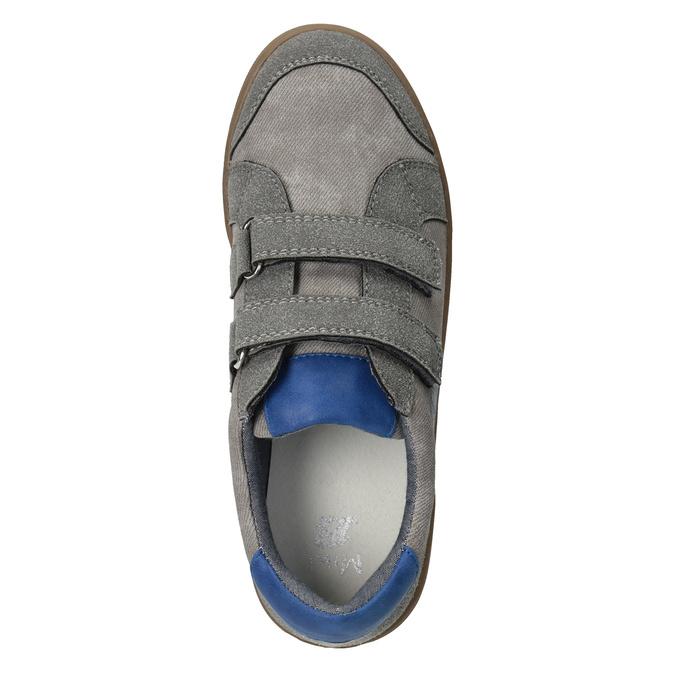 Dětské ležérní tenisky s potiskem mini-b, šedá, 411-2608 - 15