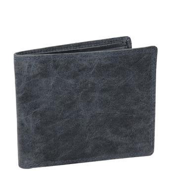 Pánská kožená peněženka modrá bata, 944-9207 - 13