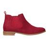 Kožená kotníčková obuv červená bata, červená, 593-5611 - 16