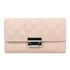 Růžová dámská peněženka s prošitím bata, 941-9169 - 26
