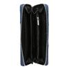 Dámská peněženka na zip bata, modrá, 941-9216 - 15