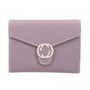 Růžová peněženka s kovovým detailem bata, 941-9213 - 26
