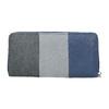 Dámská peněženka na zip bata, modrá, 941-9216 - 16