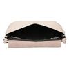 Krémová kožená kabelka bata, růžová, 964-9291 - 15