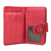Červená dámská peněženka bata, červená, 941-5160 - 15