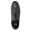 Dámské polobotky s výraznou perforací bata, černá, 521-6610 - 17