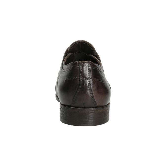 Celokožené Oxford polobotky bata, hnědá, 826-4826 - 15