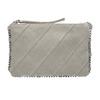 Kožená dámská Crossbody kabelka bata, šedá, 963-1193 - 26