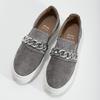 Dámské Slip-on s kovovou přezkou bata, šedá, 513-2600 - 16