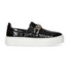 Kožená Slip-on obuv na flatformě bata, černá, 518-6601 - 19