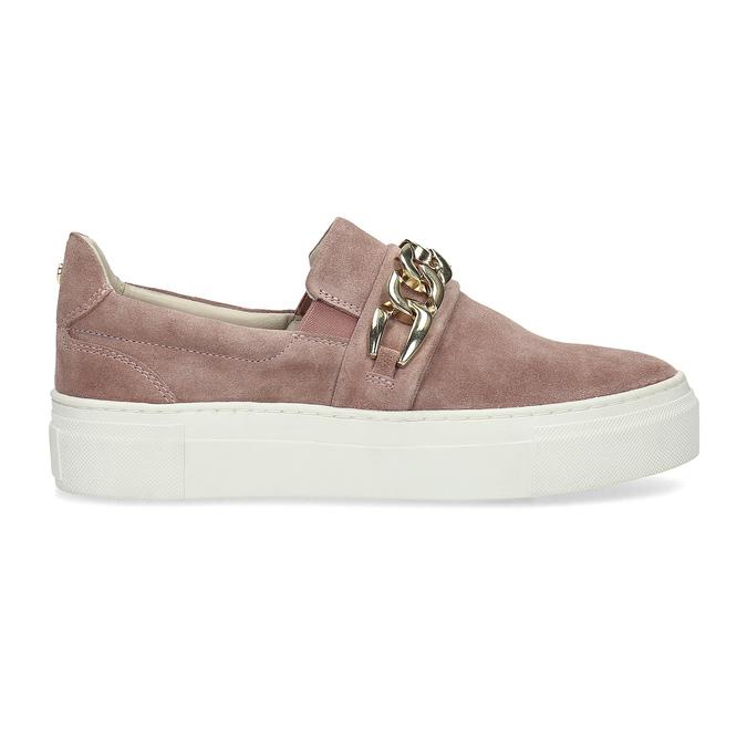 Kožená dámská Slip-on obuv bata, 513-5600 - 19