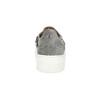 Dámské Slip-on s kovovou přezkou bata, šedá, 513-2600 - 15