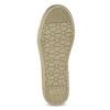 Zlaté dívčí tenisky s kamínky mini-b, zlatá, 329-8301 - 18