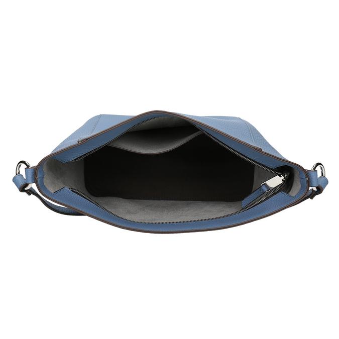 Modrá dámská Crossbody kabelka bata, modrá, 961-9842 - 15