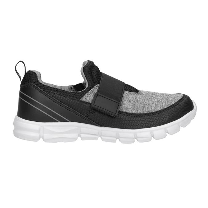 Dětské tenisky s elastickým páskem mini-b, černá, 319-6152 - 26