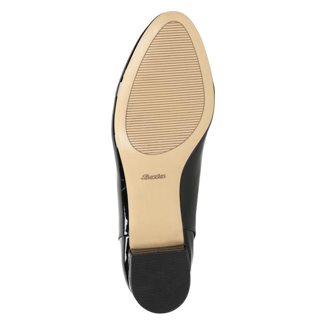 Dámské Loafers na nízkém podpatku bata, černá, 511-6608 - 17