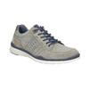 Pánské kožené tenisky bata, šedá, 846-2639 - 13