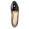 Dámské Loafers na nízkém podpatku bata, černá, 511-6608 - 15