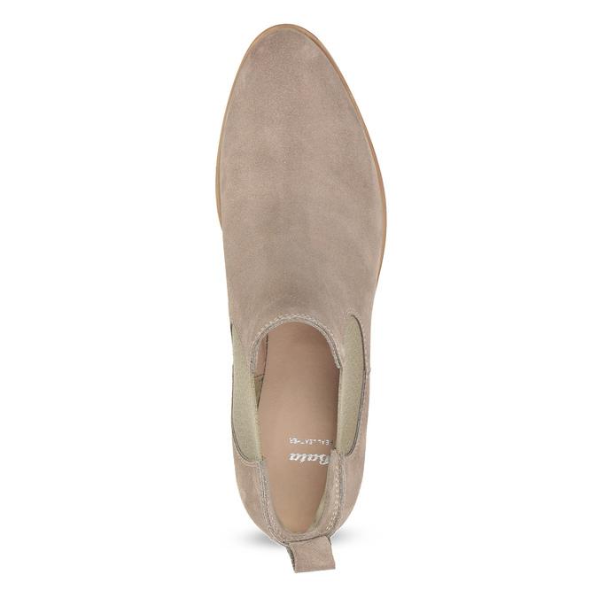 Kožená dámská Chelsea obuv bata, 593-8614 - 17