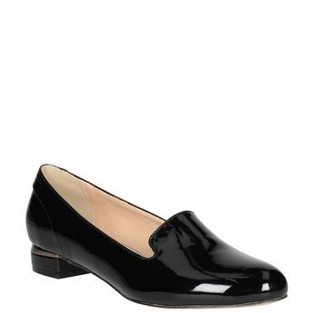 Dámské Loafers na nízkém podpatku bata, černá, 511-6608 - 13