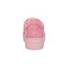 Růžové kožené tenisky na flatformě vagabond, růžová, 623-5050 - 15