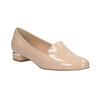 Béžové Loafers na nízkém podpatku bata, béžová, 511-8608 - 13